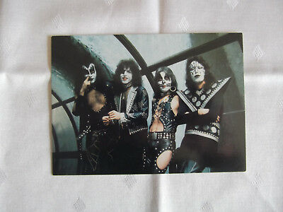 KISS / Musikgruppe /  Autogrammkarte / Damaged Goods 1991