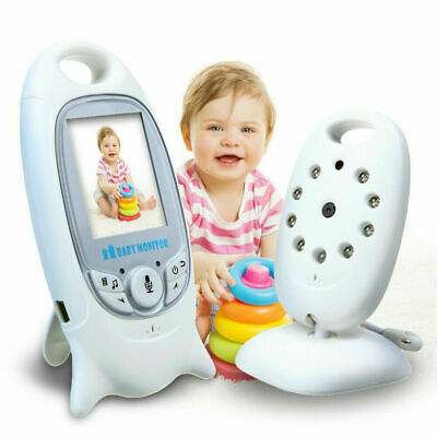 Baby Monitor Wireless Sorveglianza Controllo Sonno Bambino Neonato Audio Video