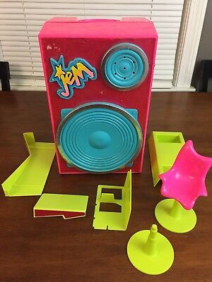 Jem And the Holograms Backstager Dressing Room Carrying Case Speaker Extra Parts