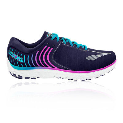Brooks Womens PureFlow 6 Running Shoe Purple Sports Breathable Lightweight