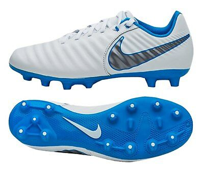 a594e9a8e38 Nike Men Tiempo Legend 7 HG Academy Cleats White Soccer Shoes Spike  AO9880-107