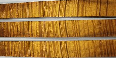 5A Ripple Golden Phoebe Wood Fretboard FOR Guitar Fingerboard,Luthier Supply