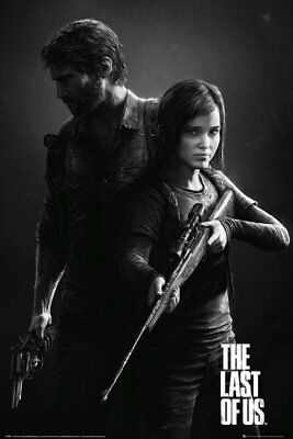 The Last of Us Black and White Portrait Maxi Poster 61x91.5cm FP3465