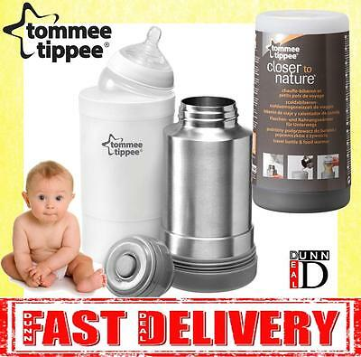 Tommee Tippee Closer To Nature Baby Milk Bottle Food Drink Warmer Travel Flask