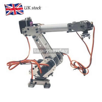 DoArm S6 6DoF Robot Arm Model Manipulator with 4PCS MG996R 2PCS MG90S UK