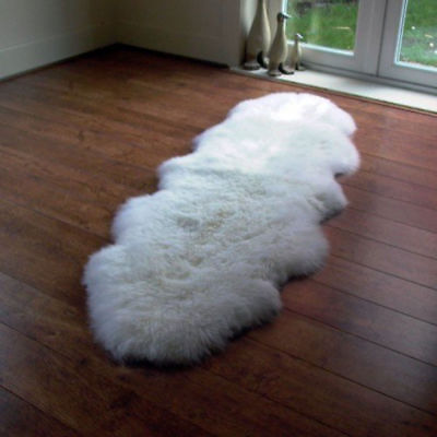 New Soft Fluffy Wool Sheep skin Mat Sofa Bedroom Mat Rug Floor Carpet Blanket