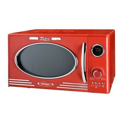 EFBE SCHOTT MW2500DG-R - Four micro-ondes grill rouge - 25 L - 900 W - Grill 100