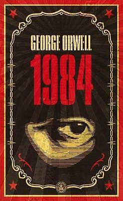 Nineteen Eighty-Four by George Orwell (English) Paperback Book Free Shipping!