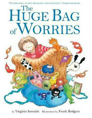 The Huge Bag of Worries by Virginia Ironside Paperback Book Free Shipping!