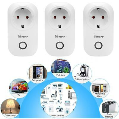 3X Sonoff S20 WIFI Smart APP Remote Control Timer Steckdose Home Automation DE