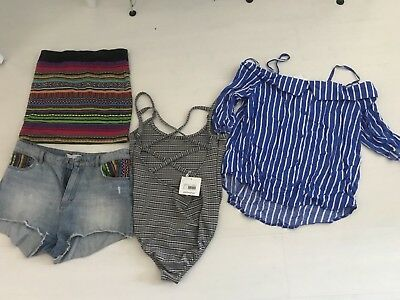 Misguided/H&M/Select Summer Clothes Bundle Size 14