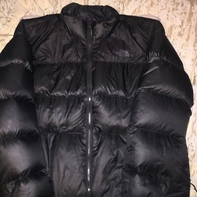 ... best sell 04c88 131b4 Mens The North Face Double Black Nuptse 700 Down  Puffer Jacket Size ... aa52c9acf