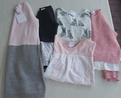 Witchery Girl Sz 8/10 Lot-5 Pcs! NWT Mohair/Cashmere Knit Dress, Tops & Jumper