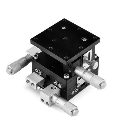 XYZ Axis Linear Stage Trimming Tuning Manual Displacement Platform Sliding Table