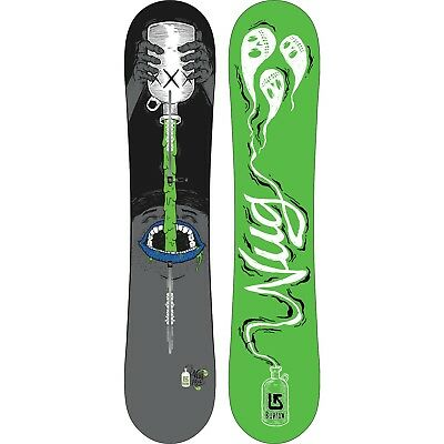 BURTON 'Nug' - BEND: Flying V 150 Snowboard - NEW - Moonshine - 2017 - Twin Flex