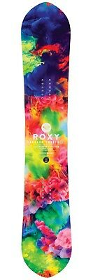 ROXY Banana Smoothie 142 Snowboard - NEW - 2017 - EC2 Banana Traction - Rivet