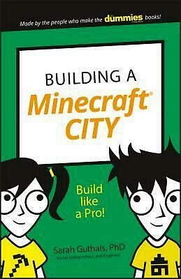 Building a Minecraft City: Build Like a Pro! by Sarah Guthals Paperback Book Fre