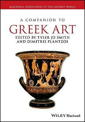 Companion to Greek Art by Tyler Jo Smith Paperback Book Free Shipping!