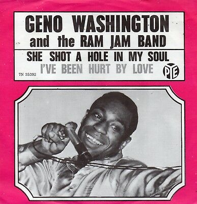 Sg.  -  GENO WASHINGTON AND THE RAM JAM BAND - SHE SHOT A HOLE IN MY SOUL