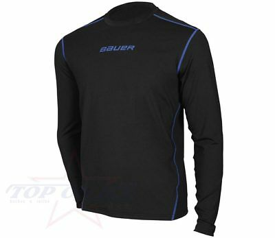 Unterwäsche Bauer NG Basics Longsleeve Base Layer Top Junior  --Eishockey--