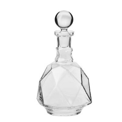 Glass Whisky Decanter 900 ml Brandy Liqueur Sherry Scotch Carafe Bottle Crystal