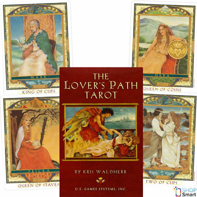 The Lover's Path Tarot Cards Deck Kris Waldherr Esoteric Telling Astrology New