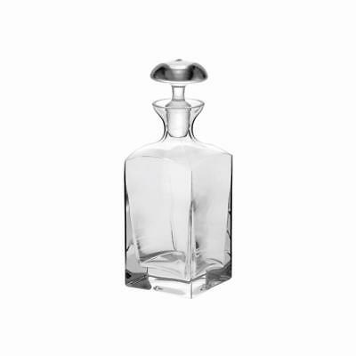 Glass Whisky Decanter 1L Brandy Liqueur Sherry Scotch Carafe Bottle Crystal