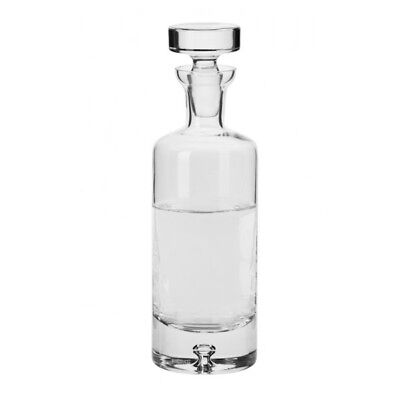 Glass Whisky Decanter 750 ml Brandy Liqueur Sherry Scotch Carafe Bottle Crystal
