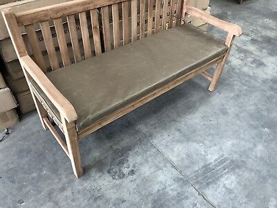GARDEN BENCH CUSHION 4 Seat  KARKI CUHION   =CUSHION ONLY = SEE DISCRIPTION