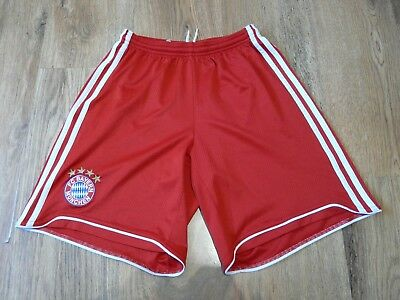 Bayern Munich Adidas Football Shorts Size 15-16Y D176 (N303)