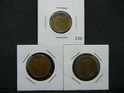 3 Heads I win Tails You Lose Tokens Lot 24K