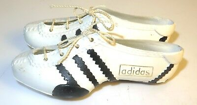 Vintage ADIDAS *EXC*  FIFA World Cup  Miniature Soccer Football toy Shoes