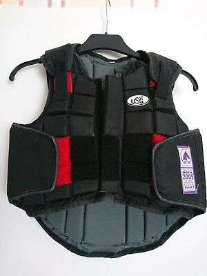 Kinder Sicherheit Reitweste USG Flex Body Protection CS Small (7-9Jahre)