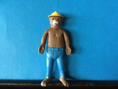 Vintage Smokey Bear elusive bendy  1967 U.S. Forest and Ag Dept.