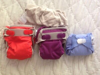Close Parent Pop-In Newborn Nappy Bamboo + bamboo liners NEW
