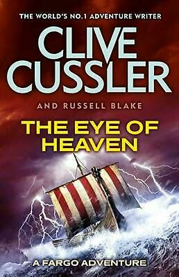 Eye of Heaven: Fargo Adventures #6 by Clive Cussler Paperback Book Free Shipping