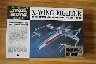 FineMolds - Kit No.: SW-1 - Star Wars – X-Wing Fighter – 1/72 – Chrom