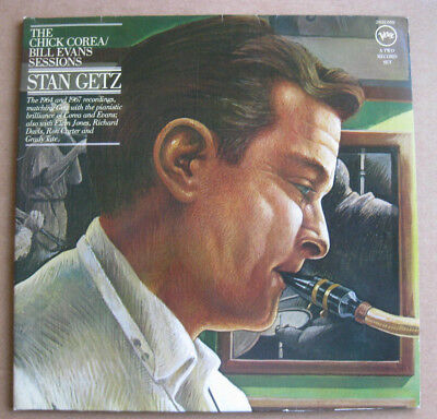 DLP STAN GETZ The Chick Corea/Bill Evans Sessions VERVE GER STEREO 1976 OIS