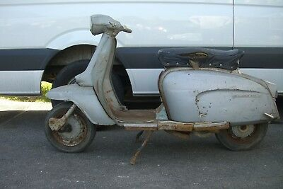 Italian lambretta li150 special 1965  in original condition engine seized,