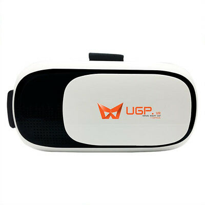 UGP V2 Virtual Reality Glasses 3D VR BOX Immersive Cardboard Helmet Support 4.0