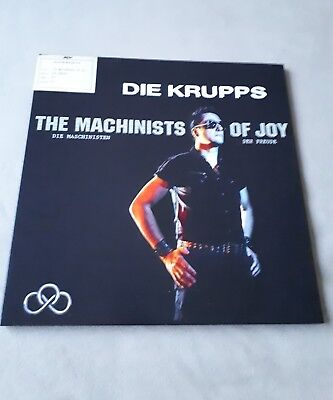 DIE KRUPPS – The Machinists Of Joy / Vinyl + CD / Limited Edition!