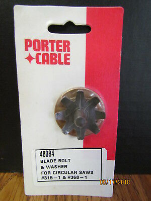 New Porter Cable Blade Bolt Assembly For Circular Saws Model 315, 368 & Others