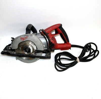 "Milwaukee 6577-20 7 1/4"" Corded Worm Drive Circular Saw 4,400 RPM 120V"