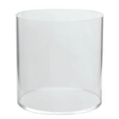 """Only Hangers 8"""" Acrylic Cylinder- Clear"""