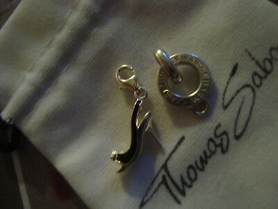 Sterling Silber 925 Thomas Sabo Carrier+Charm Anhänger TOP
