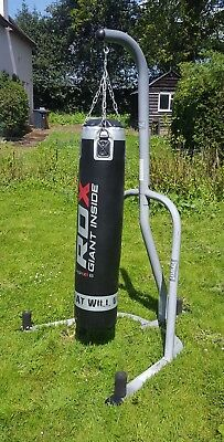 Heavy RDXBoxing Bag With Stand And Gloves