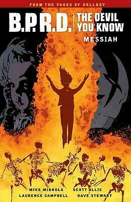 B.p.r.d.: The Devil You Know Volume 1 - Messiah by Mike Mignola Paperback Book F