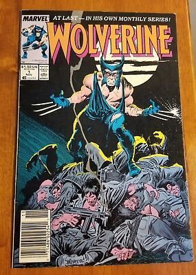 Wolverine #1 (ongoing series, 1988, Marvel) Claremont Buscema