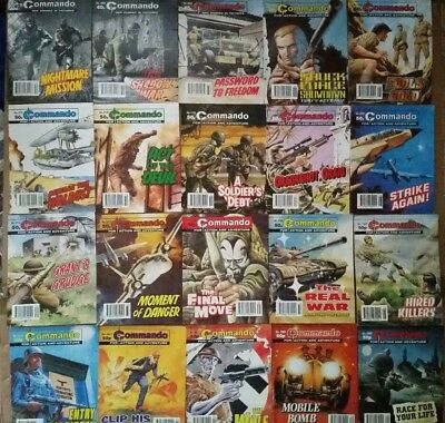 Commando comics job lot x 35