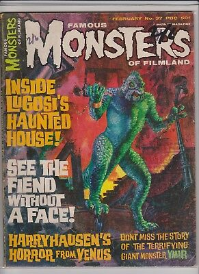 Famous Monsters of Filmland 37      VG+